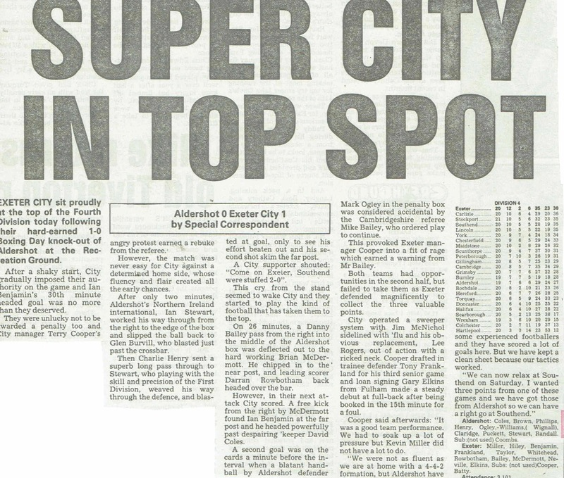 Champions 1990 | Newspaper Cuttings