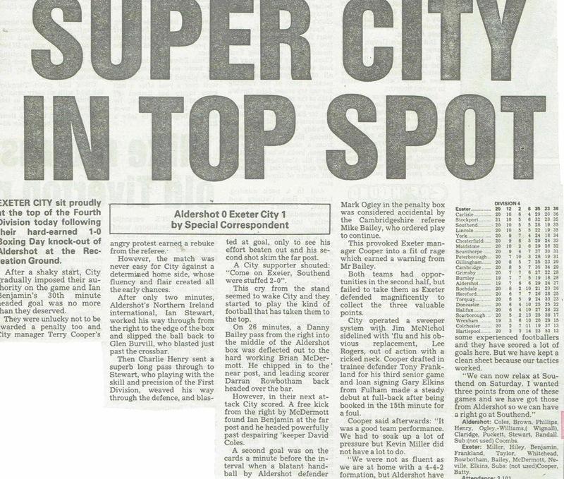 Champions 1990 | Newspaper Cuttings