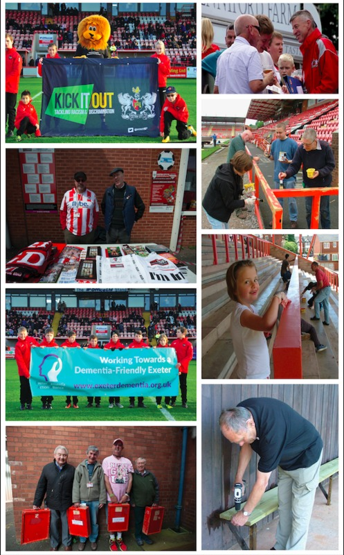 ECFC DNA | Volunteers and Fundraising