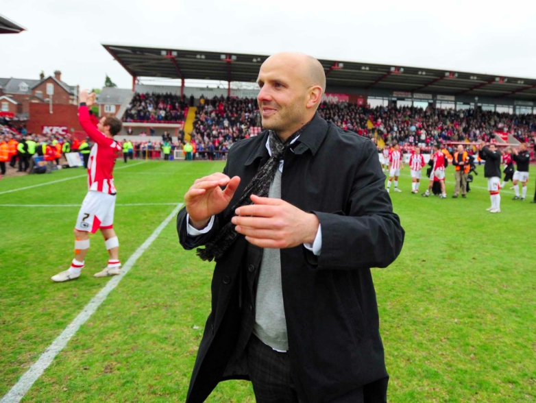 Main Stand Photos | Paul Tisdale (2010)