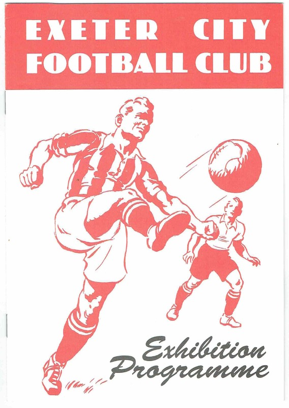 Programme for the 1991 exhibition on the history of ECFC