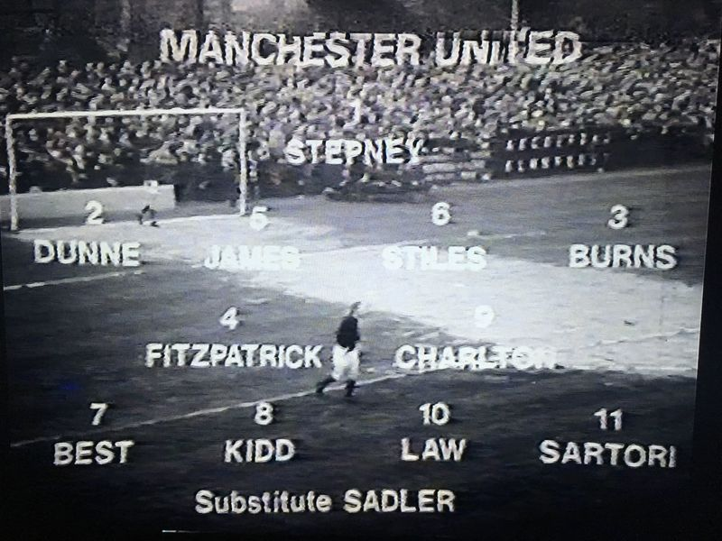 Manchester United XI vs. Exeter City (FA Cup 3rd Round, 4th January 1969)