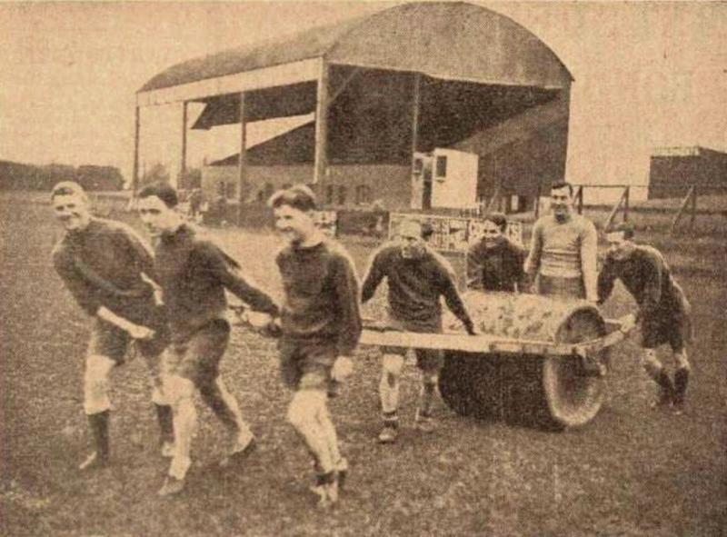 Old Grandstand Photo's | Original Grandstand at St James Park