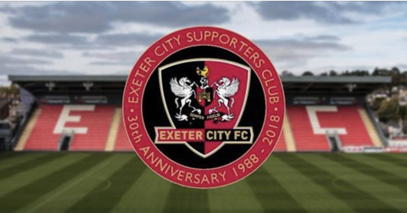 Exeter City Supporters Club | 30th Anniversary