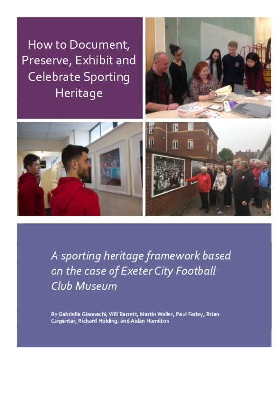 Sporting Heritage Framework