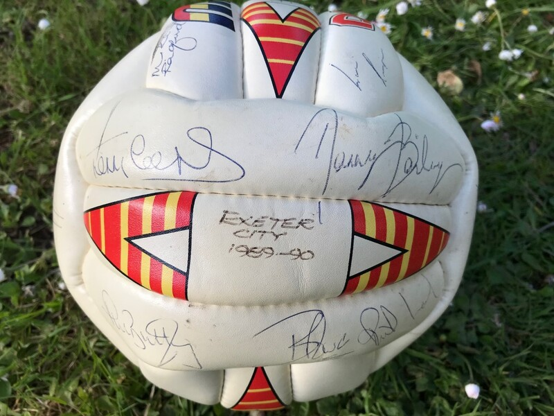 Signed 89/90 Football