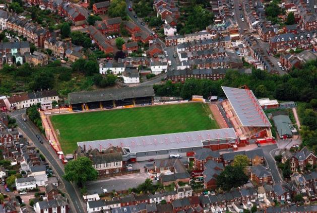 St James Park | Aerial Photograph