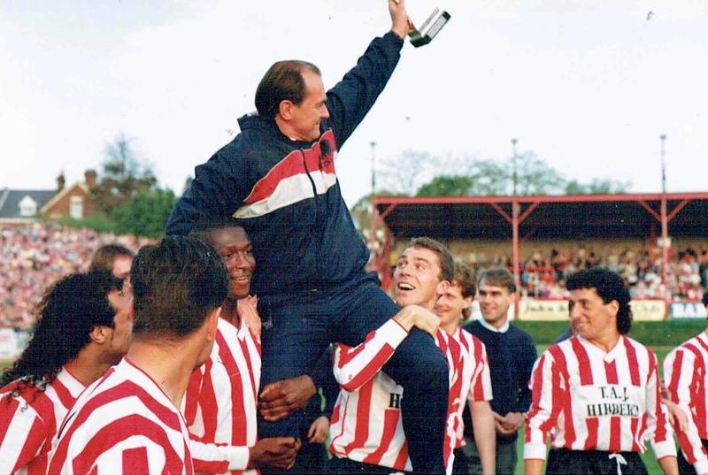 Champions 1990   Celebration Photos