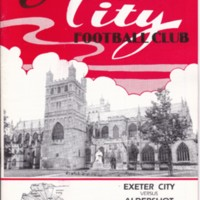 ECFC v Aldershot | November 1986