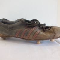 Arnold Mitchell's Boots (right)