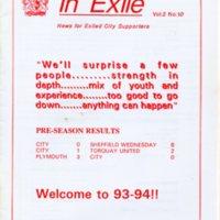 In Exile Vol. 2 No. 10