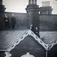 Rooftop spectators during FA Cup 3rd Round vs. Manchester Untied (1969)