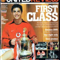 FA Cup Programme | Manchester United (2005)