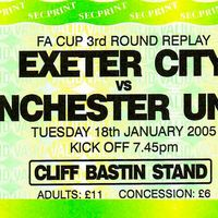 FA Cup Ticket | Manchester United (2005 Replay)