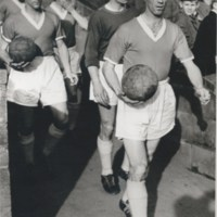 Arnold Mitchell before a game with Shrewsbury Town