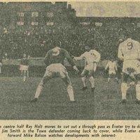 Exeter City Football Club vs Halifax Town Football Club (1967-2005)