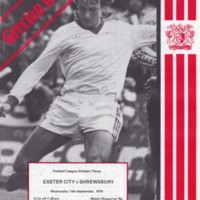 ECFC v Shrewsbury | 1978
