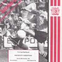 ECFC v Brentford FA Cup | 1978