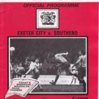 ECFC v Southend | February 1985