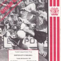 ECFC v Walsall | 1978