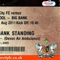 League Cup Ticket | Liverpool (2011)