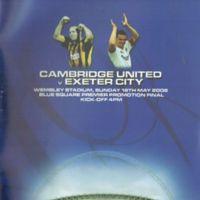 Wembley Programme | Cambridge United 2008