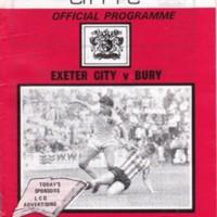 ECFC v Bury | September 1984