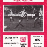 ECFC v A.F.C. Bournemouth | May 1984