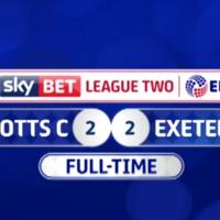 Notts County F.C. vs Exeter City F.C.