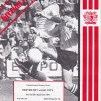 ECFC v Hull City | 1978