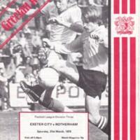 ECFC v Rotherham | 1979