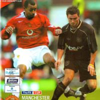FA Cup Programme | Manchester United (2005-Replay)