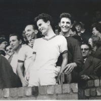 Photograph of Arnold Mitchell after promotion 1964