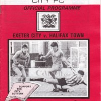 ECFC v Halifax Town | February 1985