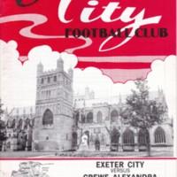 ECFC v Crewe Alexandra | February 1987