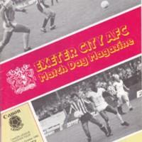 ECFC v Hartlepool United | October 1985
