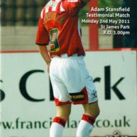 Testimonial Programme | Adam Stansfield