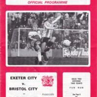 Associate Members Cup | ECFC v Bristol City | February 1984