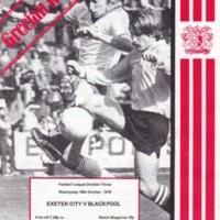 ECFC v Blackpool | 1978