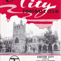 ECFC v Halifax Town | April 1987