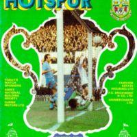 FA Cup Programme | Tottenham Hotspurs (1981)