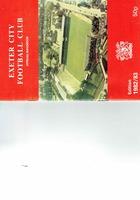 ECFC Official Handbook 1982/83